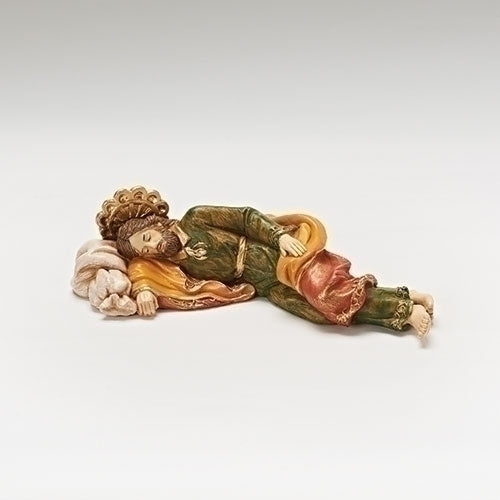 "Sleeping St. Joseph Prayer Gift - Fontanini® 5"" Collection"