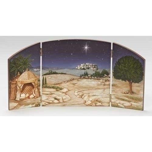"Nativity Scene Triptych - Fontanini® 5"" Collection"