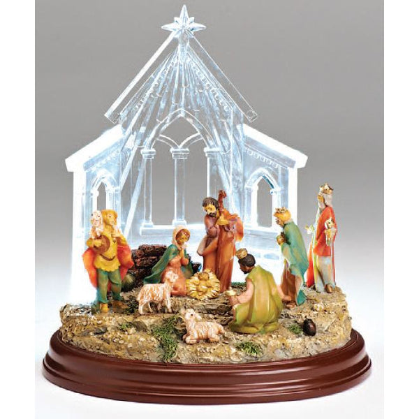 Lighted Acrylic Cathedral - Fontanini® Collection SALE
