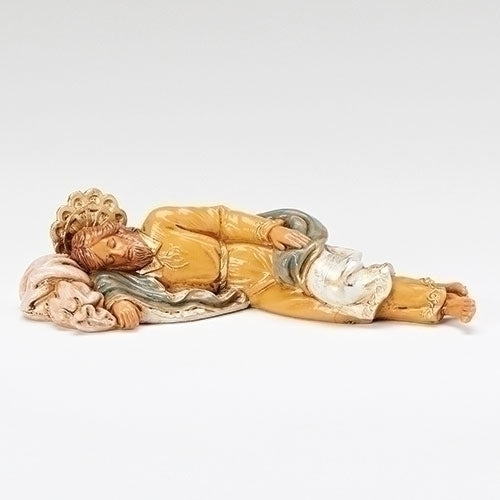 "Sleeping St. Joseph, Travel Size - Fontanini® 5"" Collection"