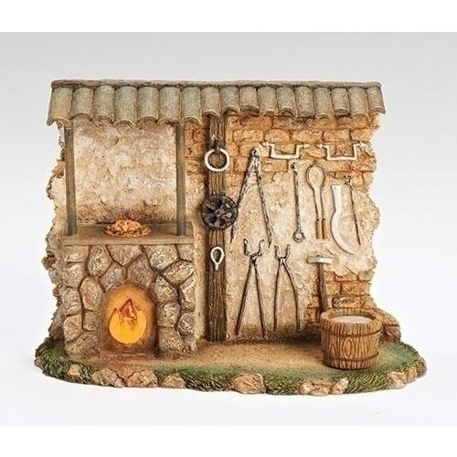 "Blacksmith Shop (Lighted) - Fontanini® 5"" Collection"