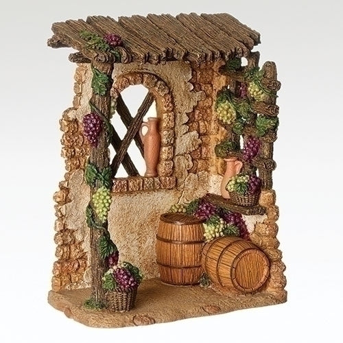"Wine Vineyard Stall - Fontanini® 5"" Collection"