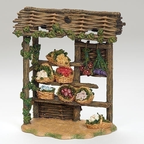 "Florist and Flower Stall - Fontanini® 5"" Collection"