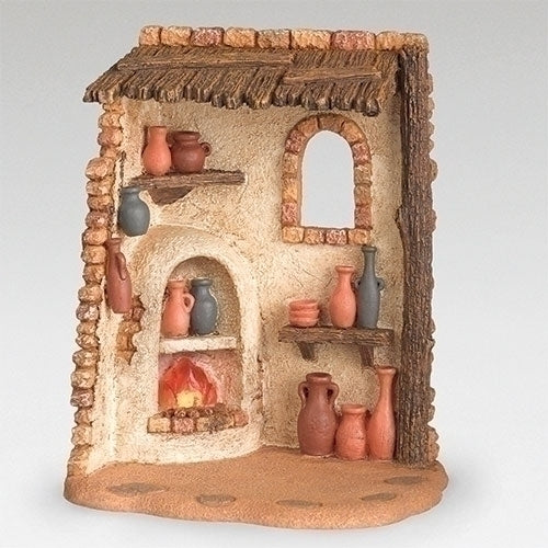 "Pottery Shop (Lighted) - Fontanini® 5"" Collection"