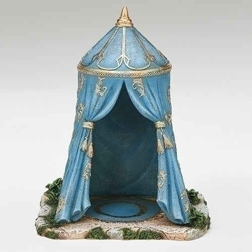 "Blue Gaspar King's Tent - Fontanini® 5"" Collection"
