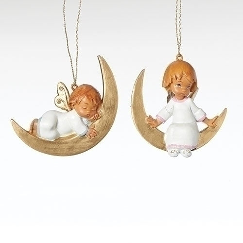 Set/2 Baby Angel Ornament, Set of 2 - Fontanini® Ornaments