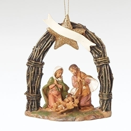Fontanini Twig Arch Holy Family Ornament - Fontanini® Collection SALE