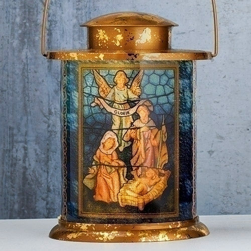 LED Lantern with Nativity Scene - Fontanini® Gift Collection SALE