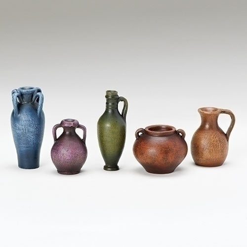 "Water Jugs & Pots, Set of 5 - Fontanini® 5"" Collection"