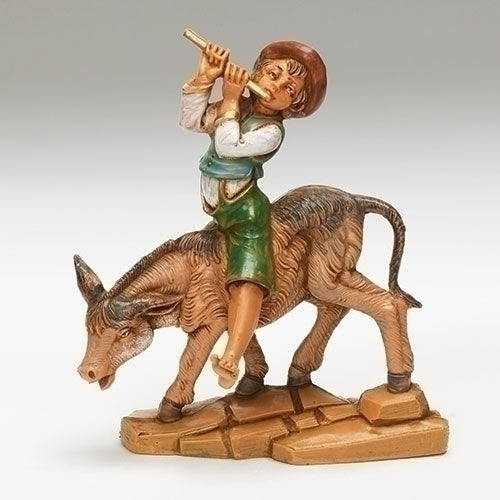 "Dominic, Boy on Donkey - Fontanini® 5"" Collection"