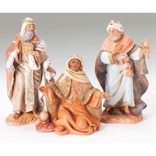 "Three Kings, Set of 3 - Fontanini® 5"" Collection"