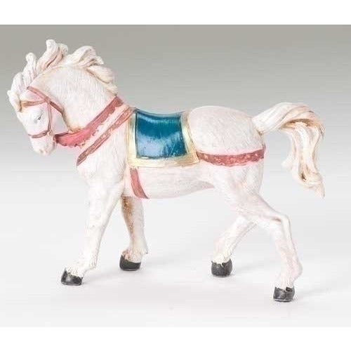 "Horse with Saddle Blanket - Fontanini® 5"" Collection"