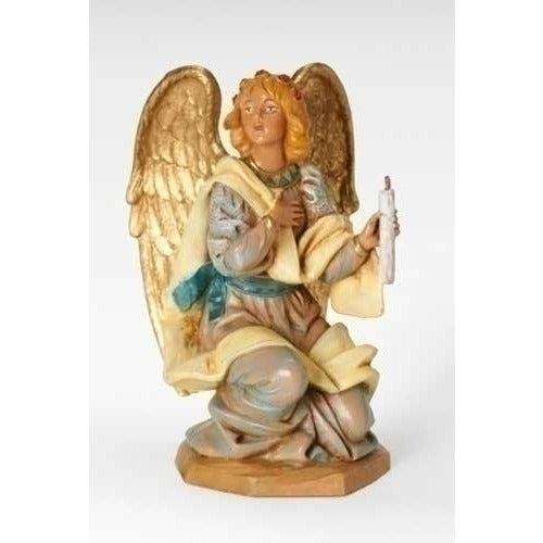 "Kneeling Angel - Fontanini® 7.5"" Collection"