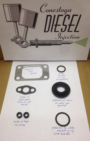 Ford IH 6.9L/7.3L IDI Factory Turbo Mounting Kit