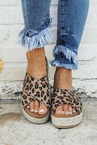 Fashion Wild Thick-Soled Slippers