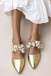 Leisure Holiday Point-Headed Sandals