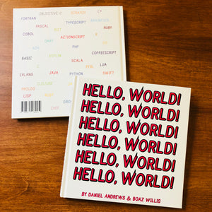 """Hello, World!"" Book"