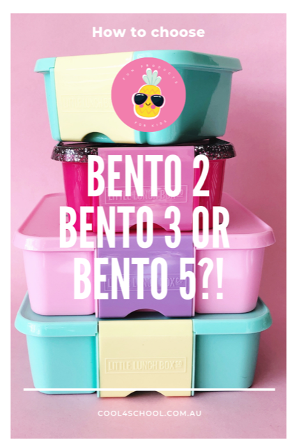Little Lunch Box Co - Bento 3 vs Bento 5
