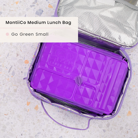 montiico medium bag with go green small snack