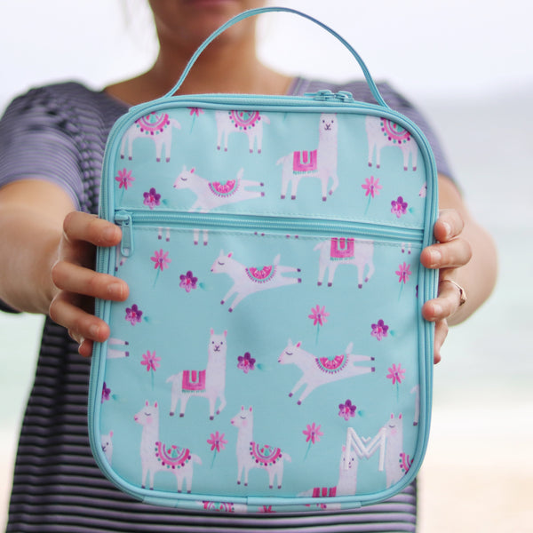 MontiiCo Insulated Lunch Bag- Llama