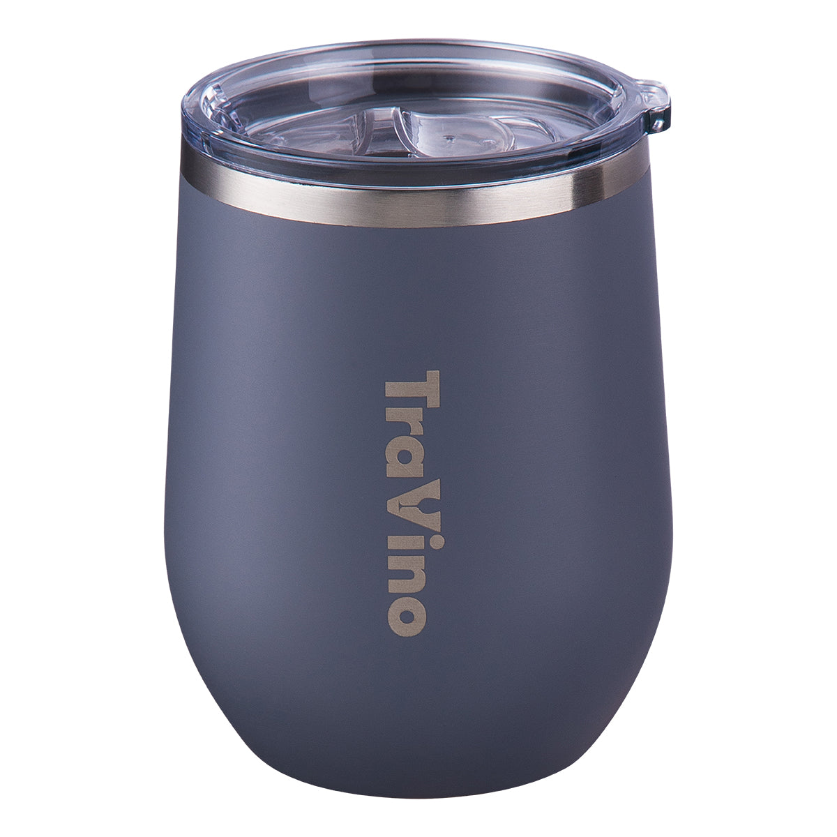 TraVino Stemless Wine Tumbler - Matte Grey