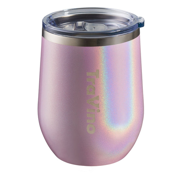 TraVino Stemless Wine Tumbler - Blush Pink