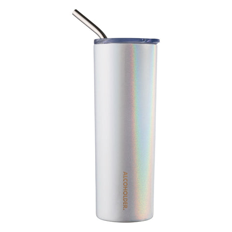 Alcoholder SKNY Slim Vacuum Insulated Tumbler - Unicorn Sparkles-590ML