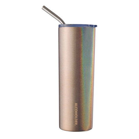 Alcoholder SKNY Slim Vacuum Insulated Tumbler - Rose Gold -590ML
