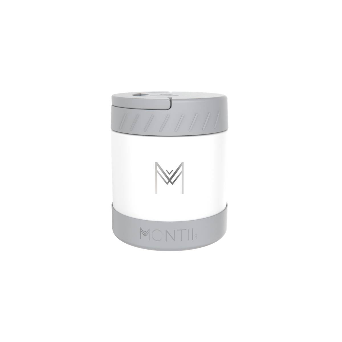 montiico insulated food jar white