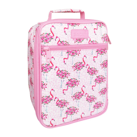 Sachi Flamingos Lunch Bag Tote