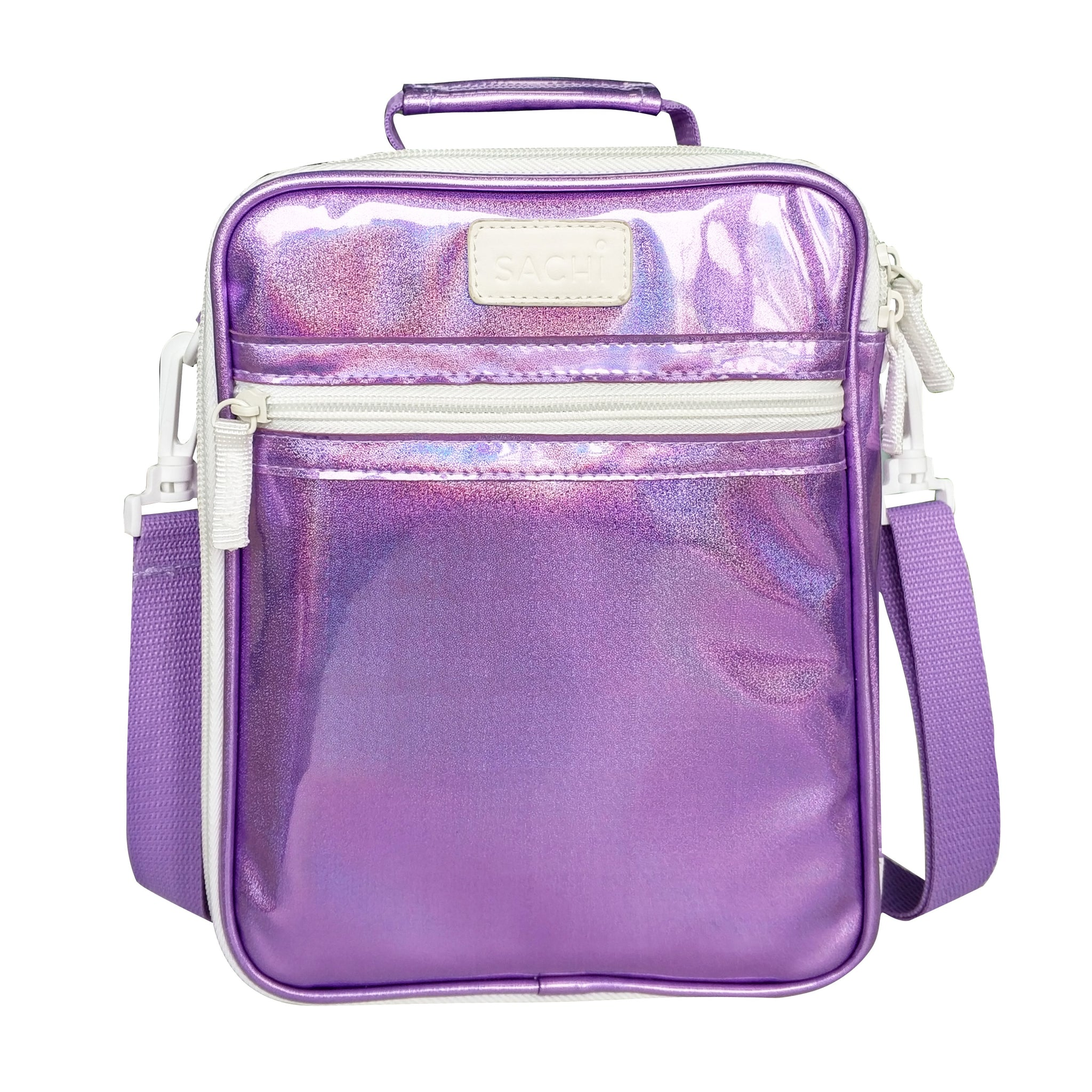 sachi insulated lunchbag purple lustre
