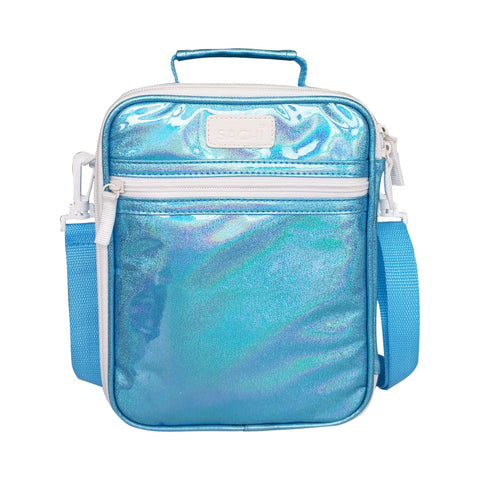 sachi insulated lunchbag turquoise lustre