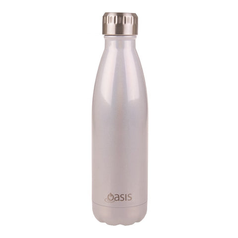 oasis pearl lustre sparkle drink bottle 500ml