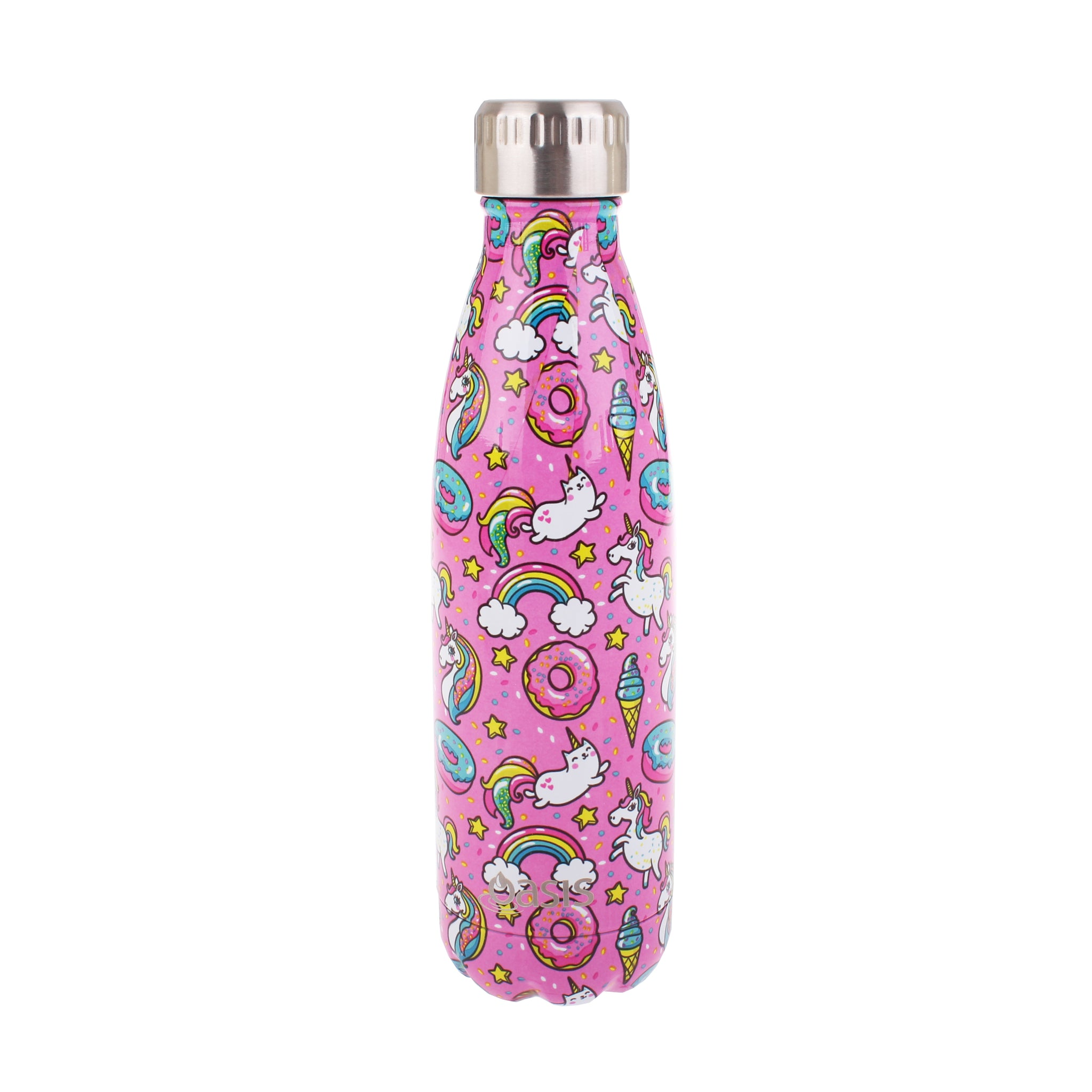Oasis Stainless Steel Insulated Bottle - Unicorn 500ml