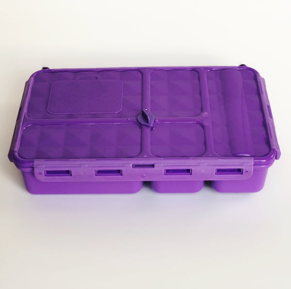 go green large set purple lunchbox confetti