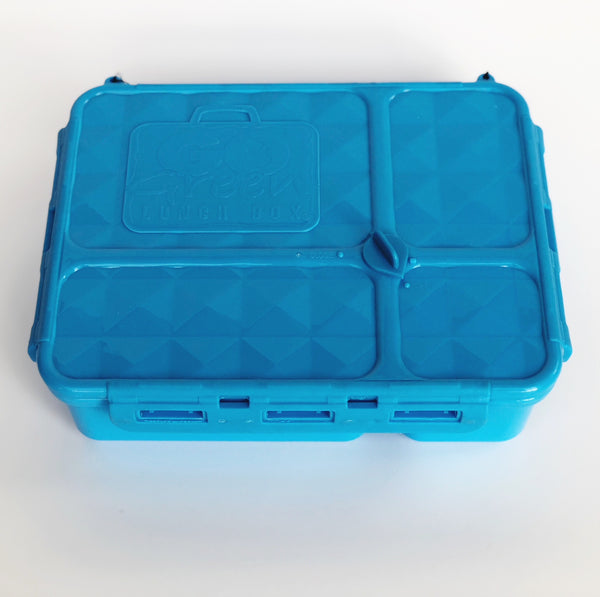 Go Green Medium Lunch Box - Blue
