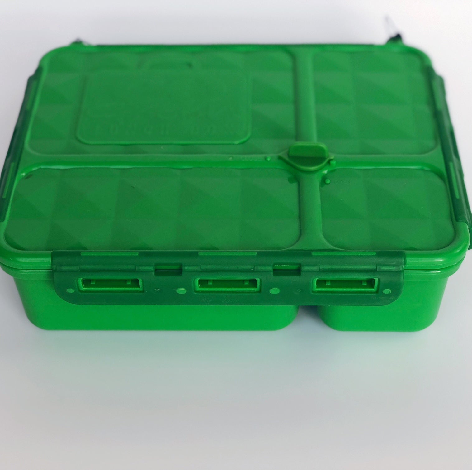 Go Green Medium Lunch Box - Green