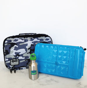 GO GREEN  Original Lunch Box Set LARGE- Camo