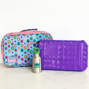 GO GREEN  Original Lunch Box Set LARGE- Confetti