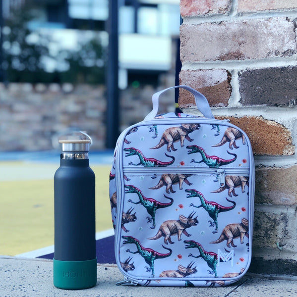 montiico insulated lunchbag dinosaur