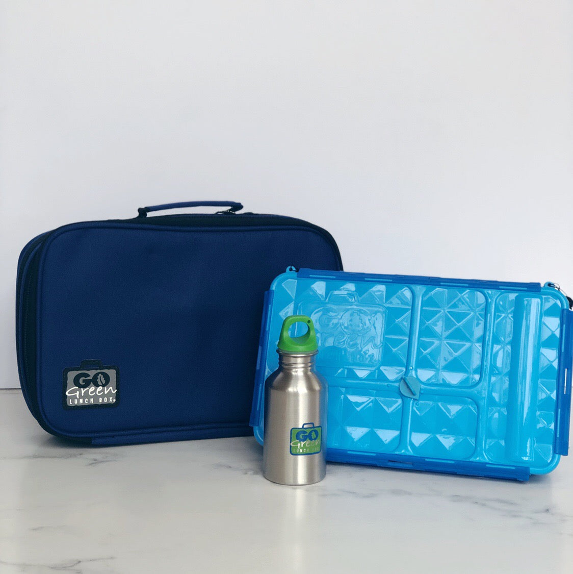 go green large set blue bomber
