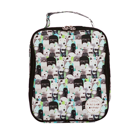 little renegade company bears and beasties lunchbag