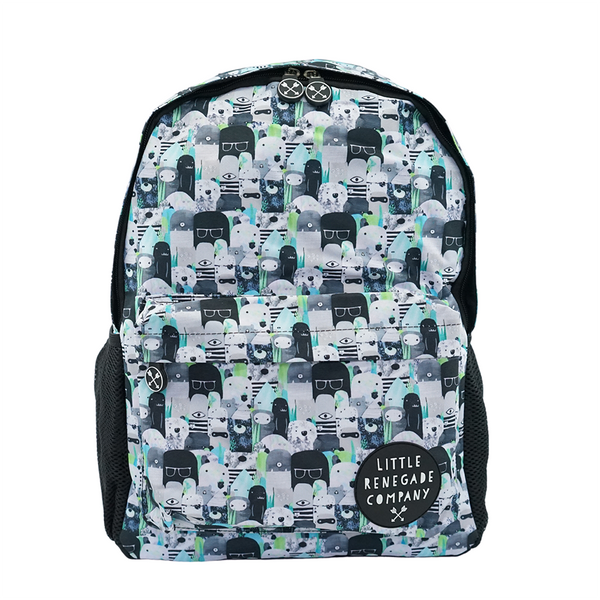 little renegade company midi back pack bears and beasties