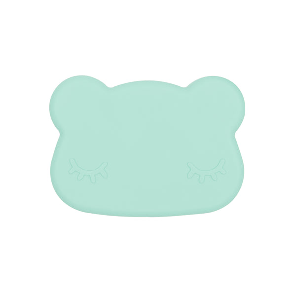 we might be tiny bear snackie minty green