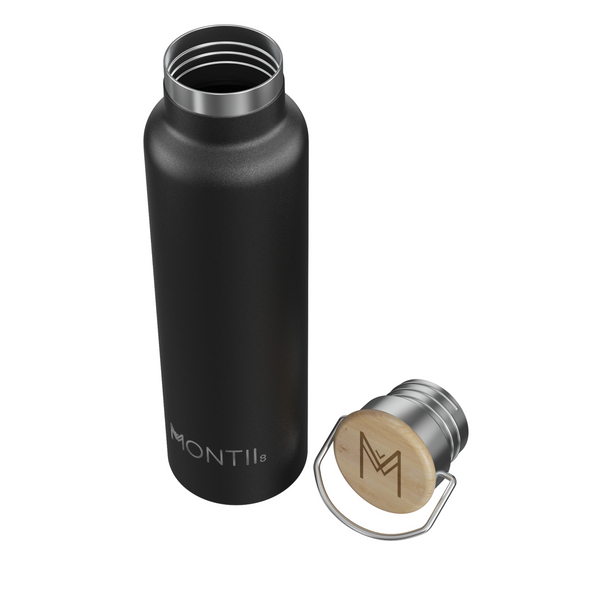 MontiiCo MEGA Drink Bottle - Black