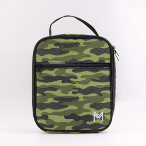 montiico insulated lunchbag camo