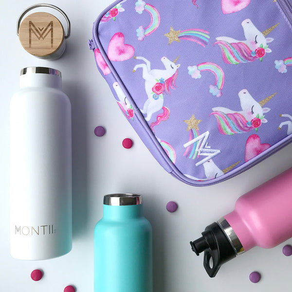 MontiiCo Insulated Lunch Bag - Unicorn