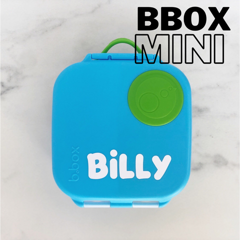 B Box Mini Lunchbox Name Label - Small