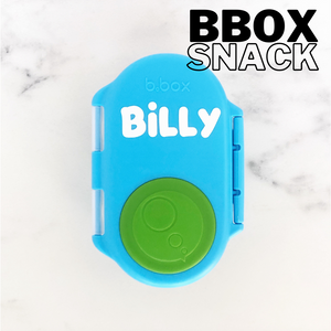 B Box Snack Lunchbox Name Label - Small