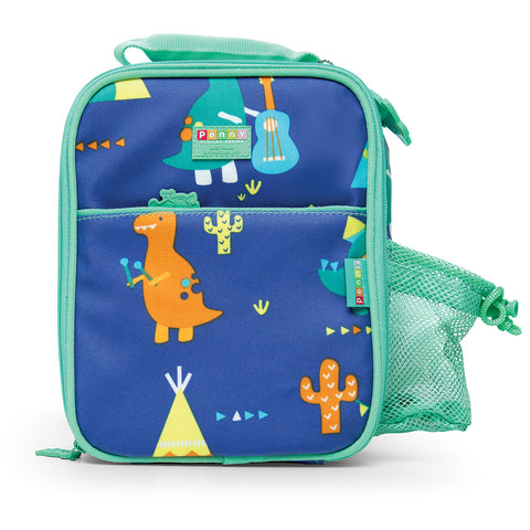 penny scallan design insulated lunchbag dino rock